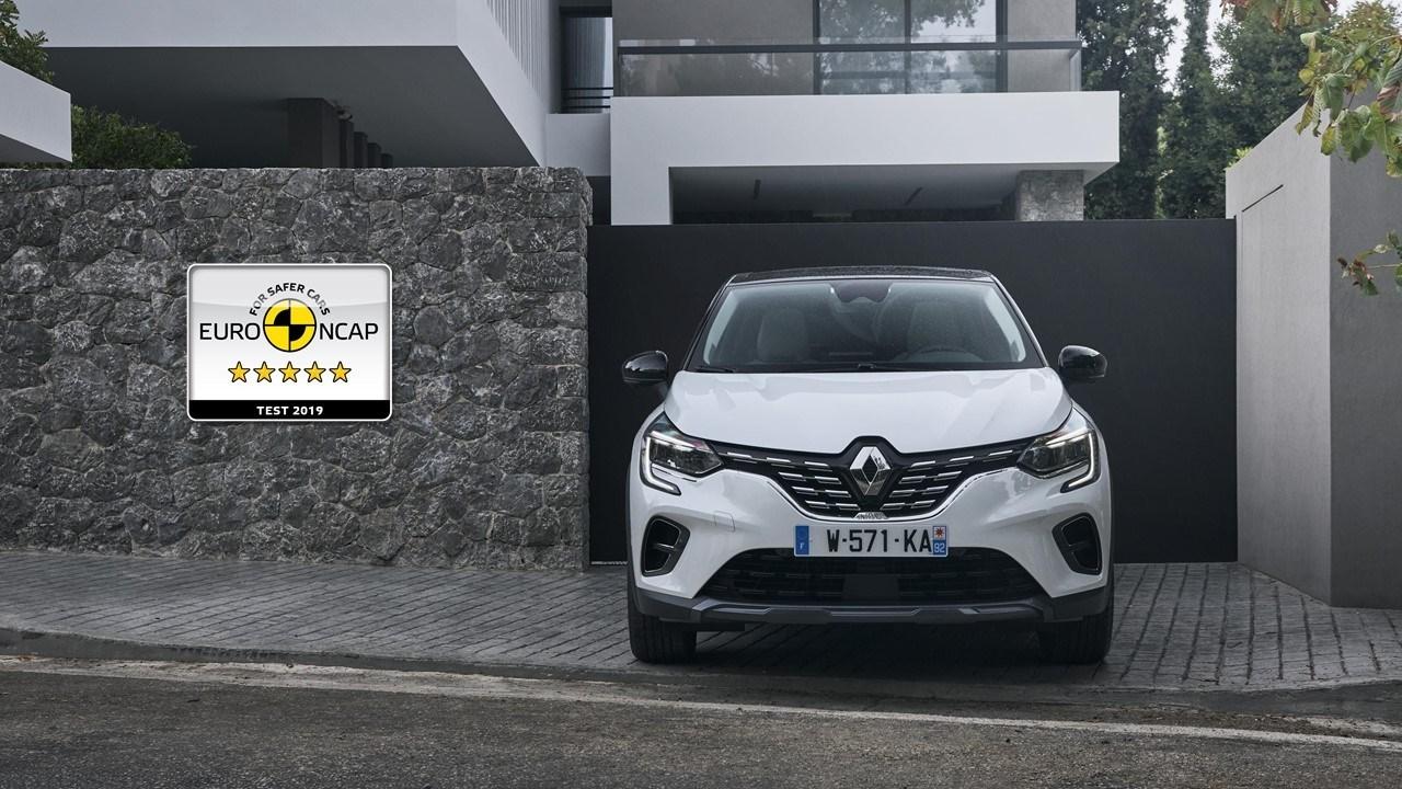New_Renault_CAPTUR_5_stars_Euro_NCAP